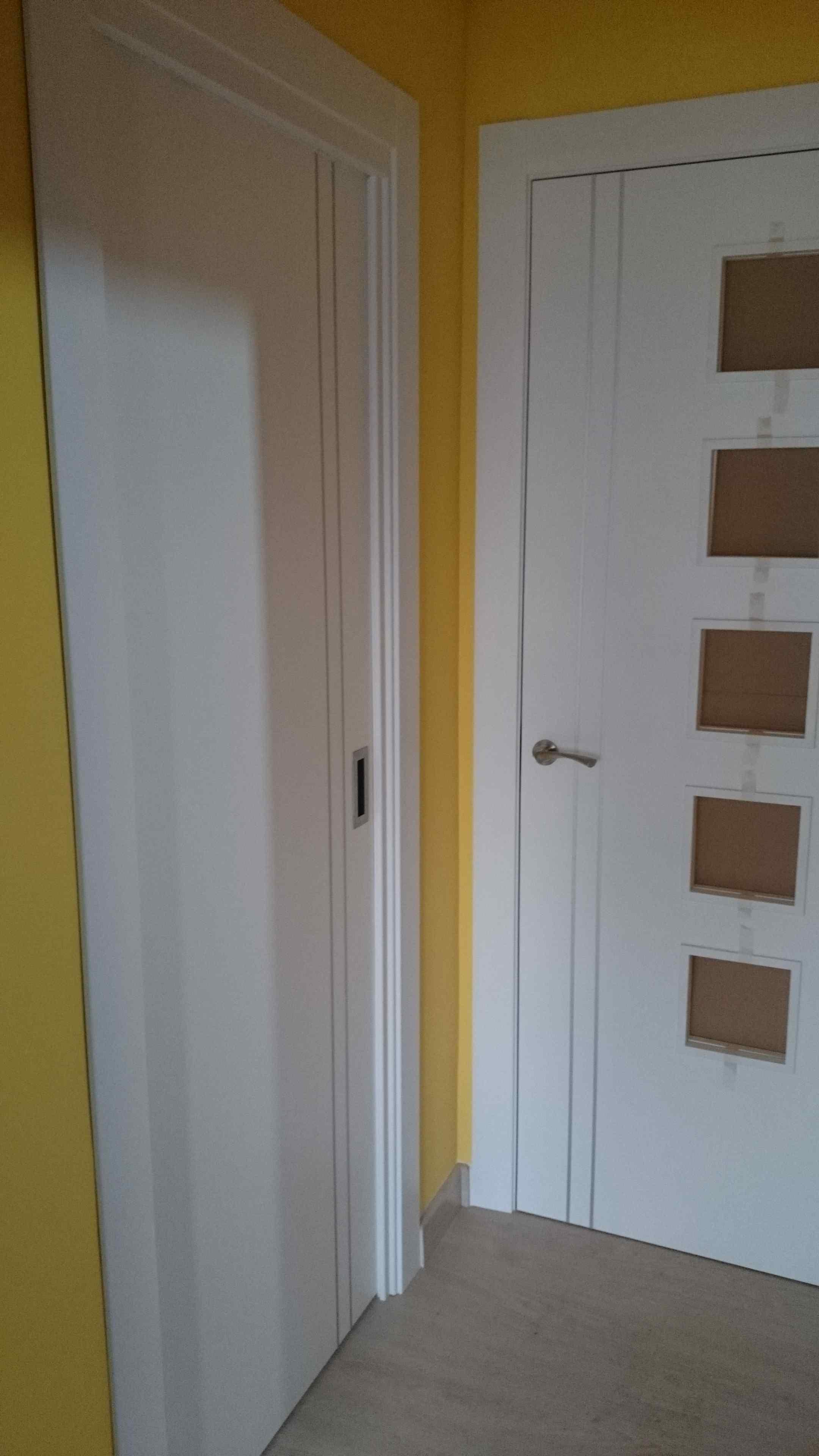 Carpinter a familia murcia puertas lacadas blancas con - Carpinteria de aluminio en murcia ...