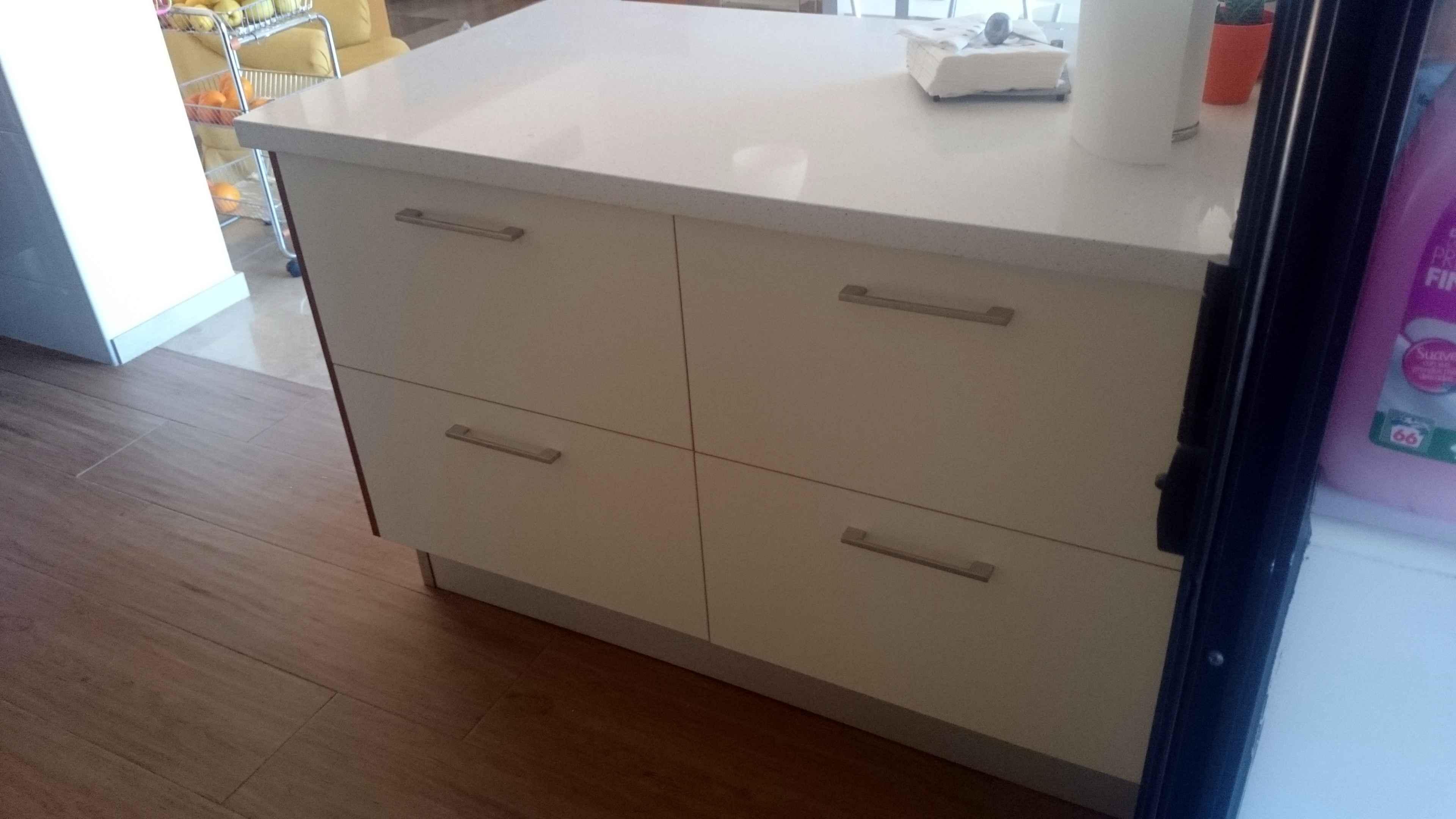 Carpinter a familia murcia ampliaci n de isla para cocina y muebles de comedor a juego - Muebles de cocina murcia ...