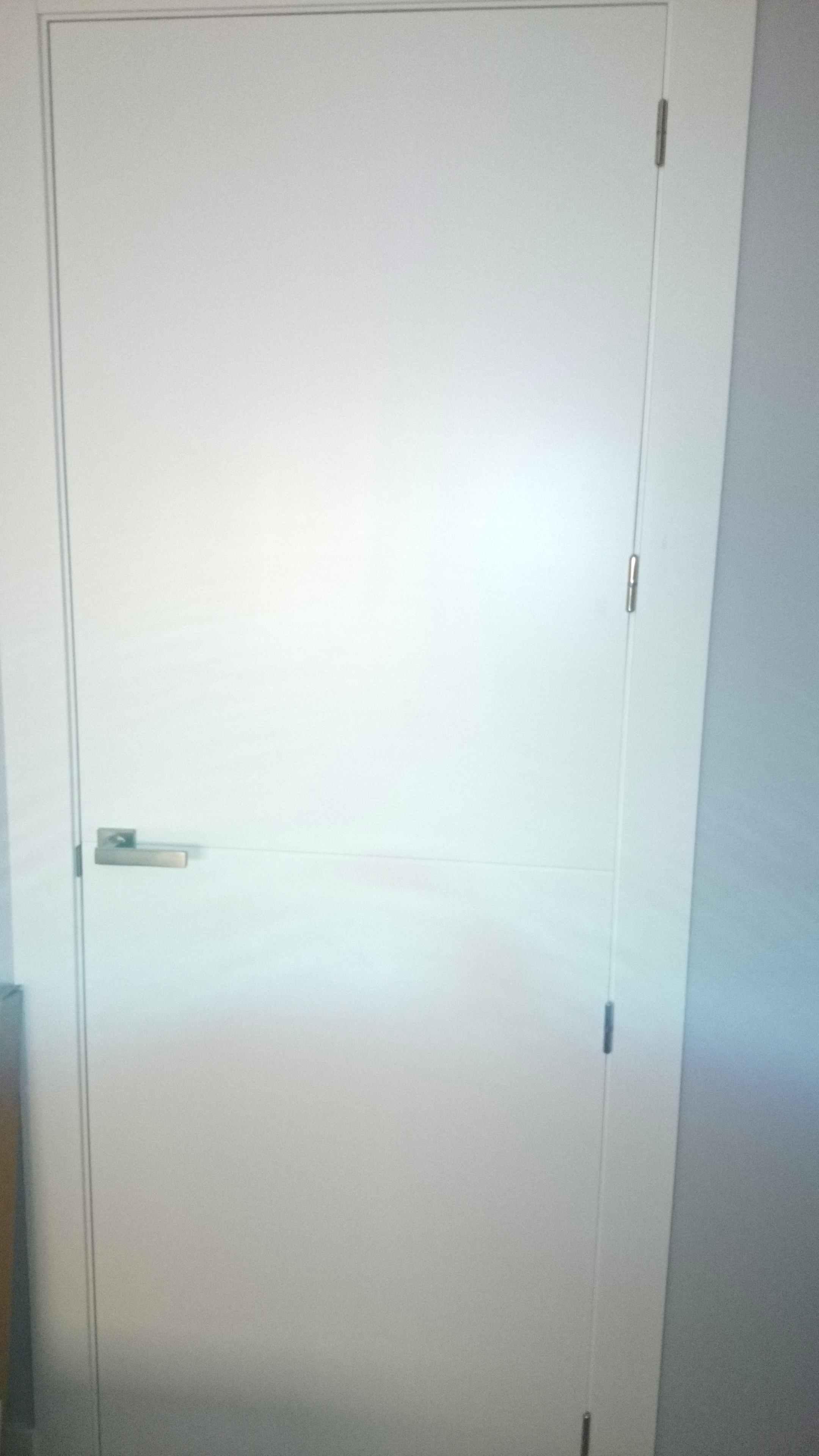 Pintar Puertas Lacadas Trendy Puertas Lacadas De Blanco With  ~ Puertas Blancas Lacadas O Pintadas